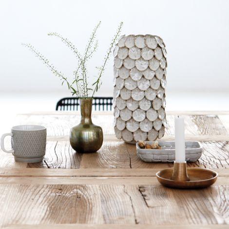 house doctor kupferfarbener kerzenst nder circle online kaufen emil paula. Black Bedroom Furniture Sets. Home Design Ideas
