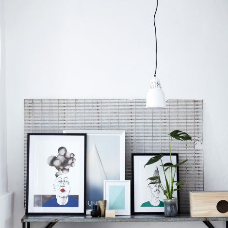 House Doctor Deckenlampe Pillar White
