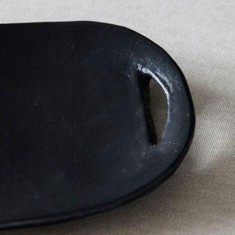 House Doctor Tablett Earth Schwarz 42 cm