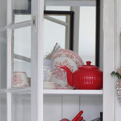 GreenGate Teekanne Alice Red