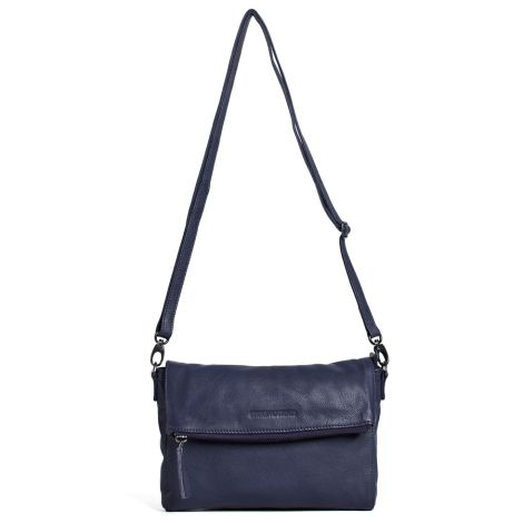 Sticks and Stones Ledertasche Ipanema Midnight Blue Washed