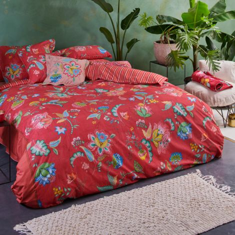 PIP Studio Bettwäsche Jambo Flower Red