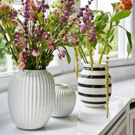 Kähler Design Hammershøi Vase 21 cm weiß