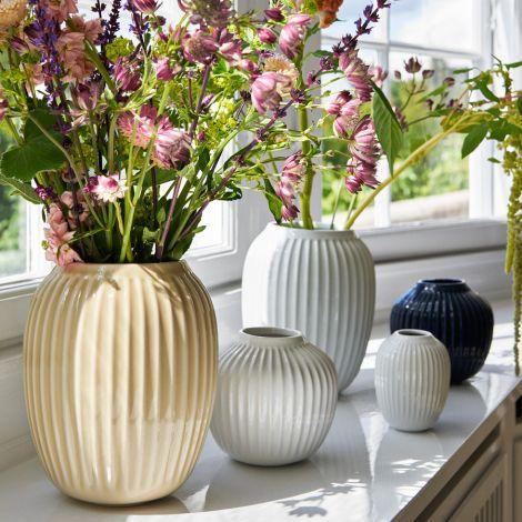 Kähler Design Hammershøi Vase 21 cm rosa