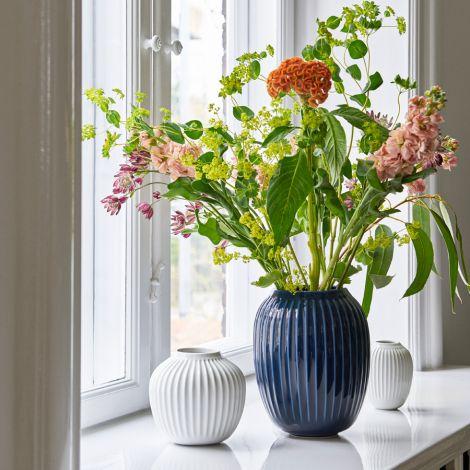 Kähler Design Hammershøi Vase 10.5 cm weiß