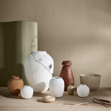 Kähler Design Hammershøi Kerzenständer Ø8 cm weiß