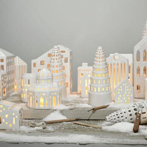Kähler Design Urbania Lichthaus Funkis weiß