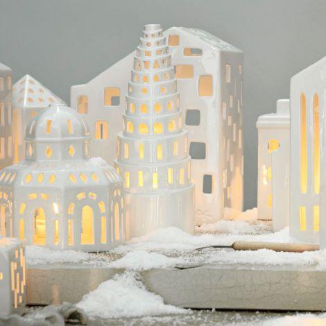 Kähler Design Urbania Lichthaus High tower weiß