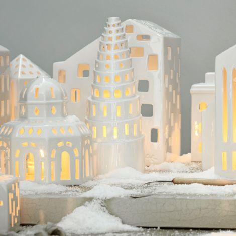 Kähler Design Urbania Lichthaus Pantheon weiß