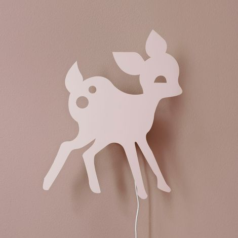 ferm LIVING Wandlampe My Deer Rose •