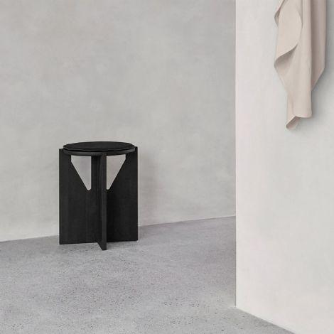 Kristina Dam Studio Stuhlkissen Stool Black