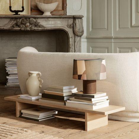ferm LIVING Display-Tisch Kona Natural Oak