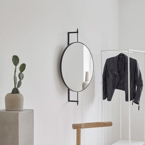 Kristina Dam Studio Spiegel (drehbar) Black