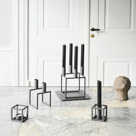 by Lassen Sockel Base für Kubus 4 Grey