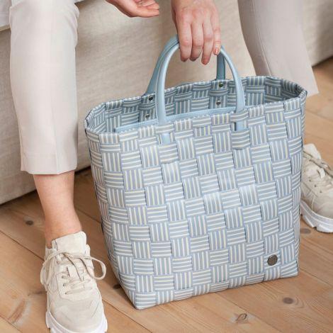 Handed By Shopper Joy mit Innentasche Steel Grey