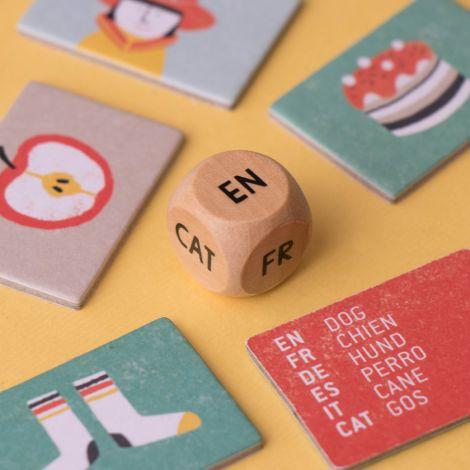 Londji Lernspiel Learn&Fun I speak 6 languages