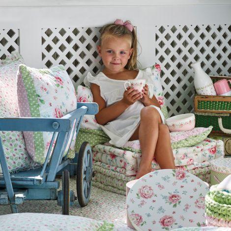 GreenGate Schüssel für Kinder Meryl Pale Pink