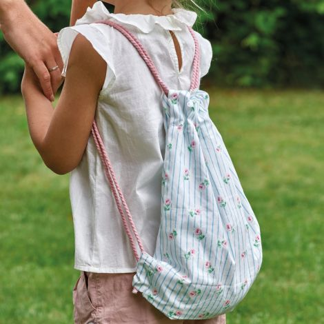 GreenGate Kindertasche Rucksack Lily Petit White