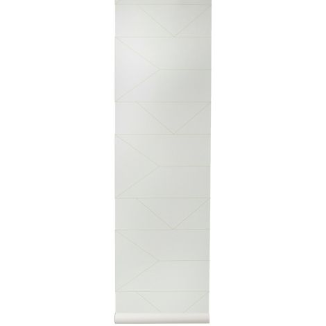 ferm LIVING Tapete Lines Off-white