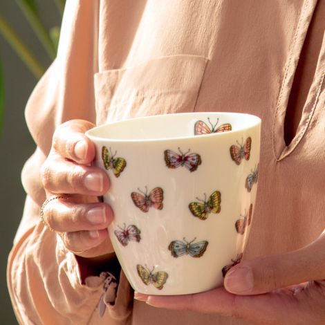 GreenGate Latte Cup Becher Maisie White