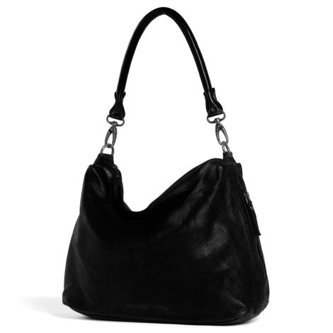 Sticks and Stones Ledertasche Marbella Black