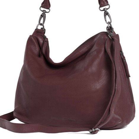 Sticks and Stones Ledertasche Marbella Burgundy
