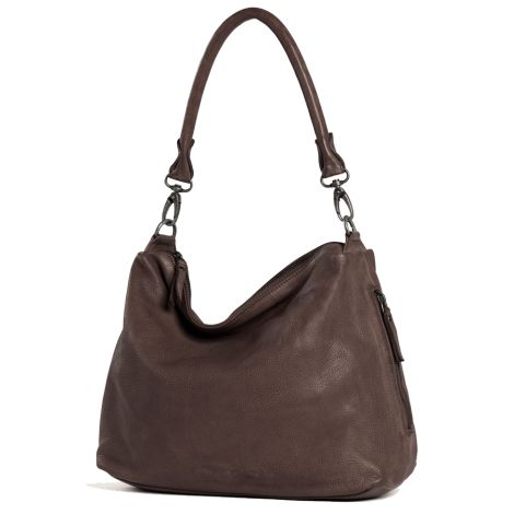 Sticks and Stones Ledertasche Marbella Taupe