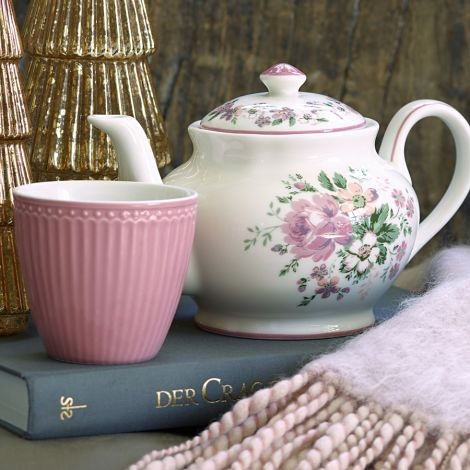 GreenGate Latte Cup Becher Alice Dusty Rose