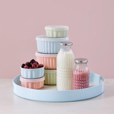 GreenGate Ofenform Aufbewahrungsdose Alice Pale Pink 2er-Set