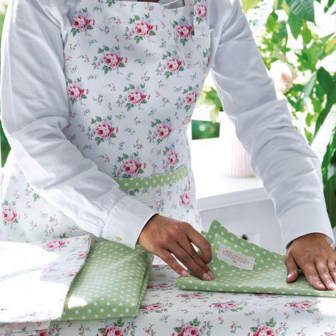 GreenGate Bügelbrett Überzug Marley Petit White
