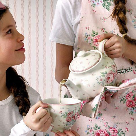 GreenGate Teekanne Marley White