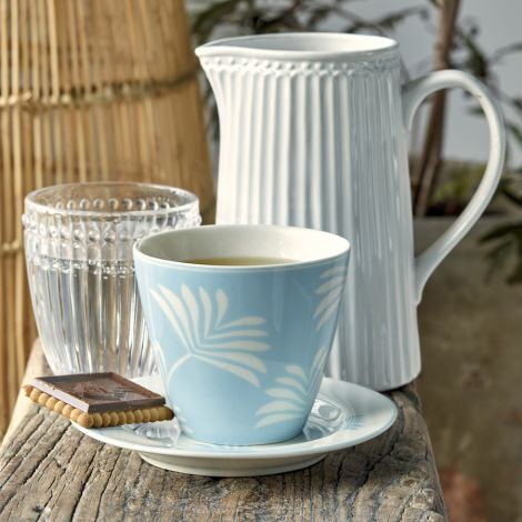 GreenGate Latte Cup Becher Maxime dusty Blue