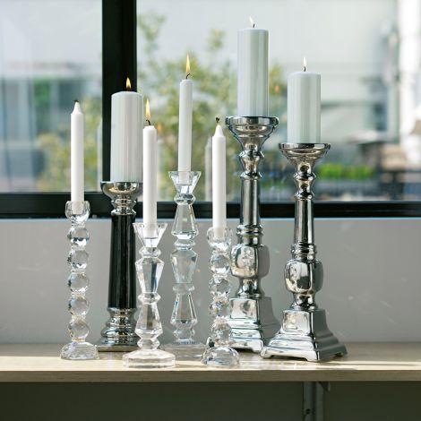 Bahne & Co. Kerzenhalter Crystal Rund Mittel