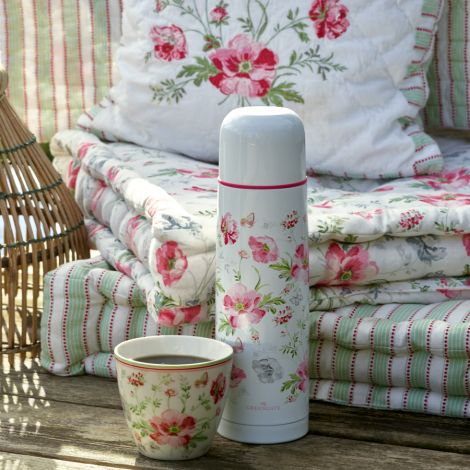 GreenGate Latte Cup Becher Meadow White