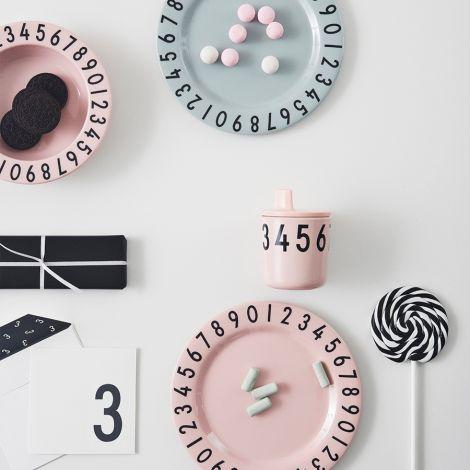 Design Letters Trinkaufsatz für Melamin Becher Pink