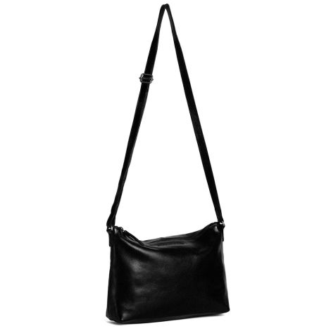 Sticks and Stones Ledertasche Melrose Black