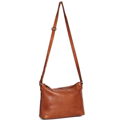 Sticks and Stones Ledertasche Melrose Cognac