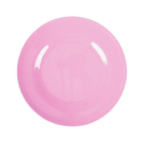 Rice Melamin Teller Groß Dark Pink 2. Dark Pink