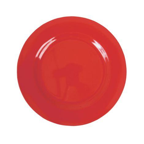 Rice Melamin Teller Groß Red 4. Red