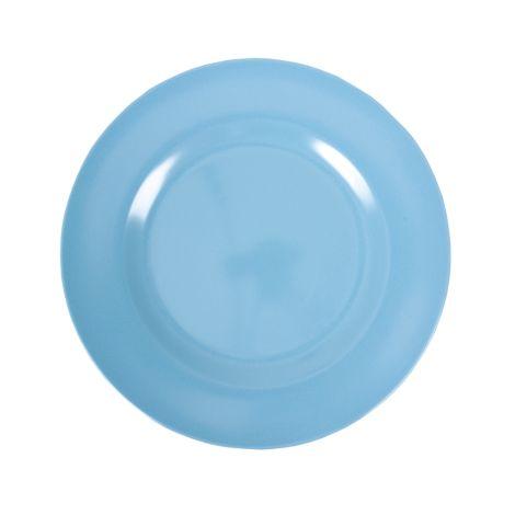 Rice Melamin Teller Groß Turquoise 6. Turquoise