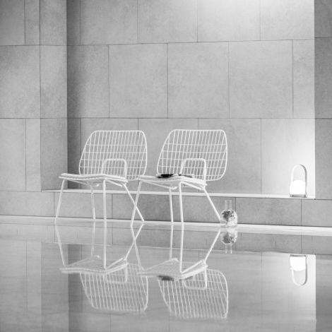 Menu WM String Stuhl Lounge Chair White