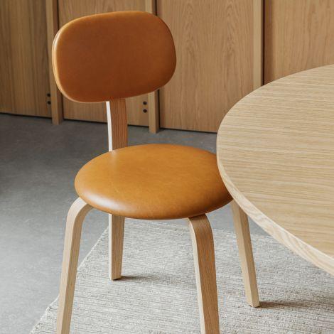 Menu Afteroom Plywood Stuhl Dark Stained Oak/Dark Stained Oak/Dakar