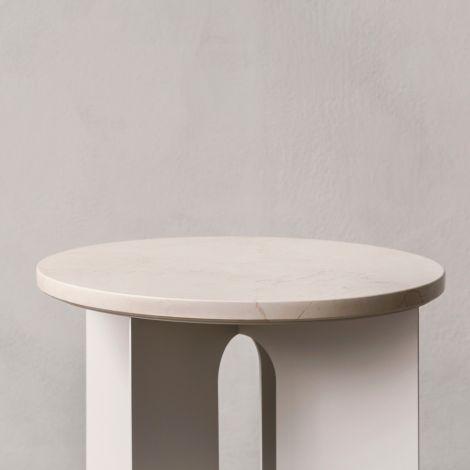 Menu Androgyne Tischplatte für Beistelltisch Black Marble