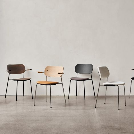 Menu Co Chair Stuhl Black/Dark Stained Oak/Lupo Sand