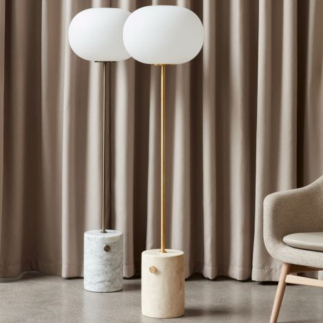 Menu JWDA Stehlampe Travertine Brushed Brass