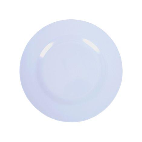 Rice Melamin Teller Soft Blue 8. Soft Blue