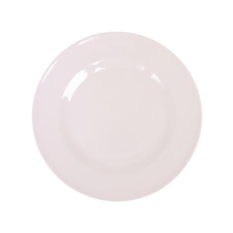 Rice Melamin Teller White 1. White