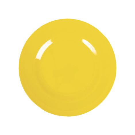 Rice Melamin Teller Yellow 2. Yellow