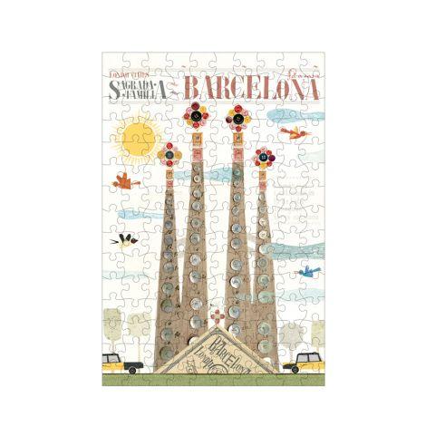 Londji Micropuzzle Barcelona 150-teilig