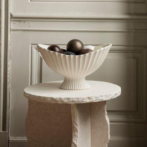 ferm LIVING Centrepiece Fountain Off-White